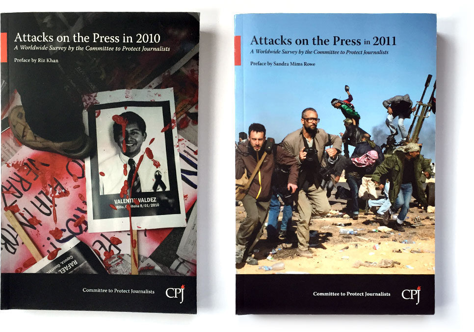 Attacks on the Press Covers