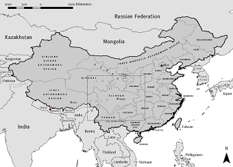 Provinces and Autonomous Regions of the People's Republic of China
