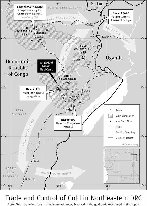 Trade and Control of Gold in Northeastern DRC