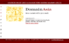 DomainAsia home page
