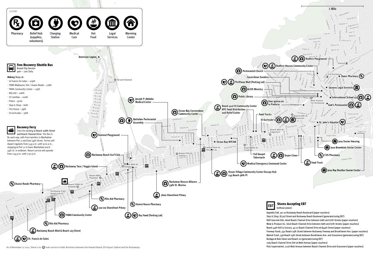 Rockaways Emergency Map