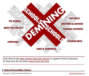 Schools Demining Schools