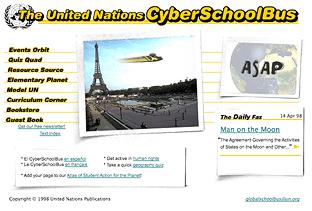 UN CyberSchoolBus Home