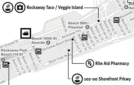 Rockaways Emergency Map