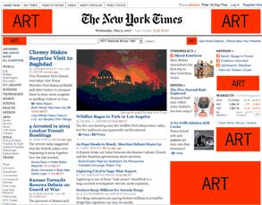 Ad Art NY Times