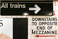 NYC Subway Signage