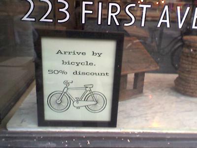 Arrive by Bike