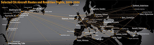 Selected CIA Aircraft Routes and Rendition Flights 2001-2006