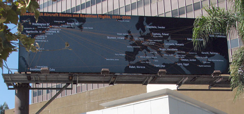 Billboard during the day
