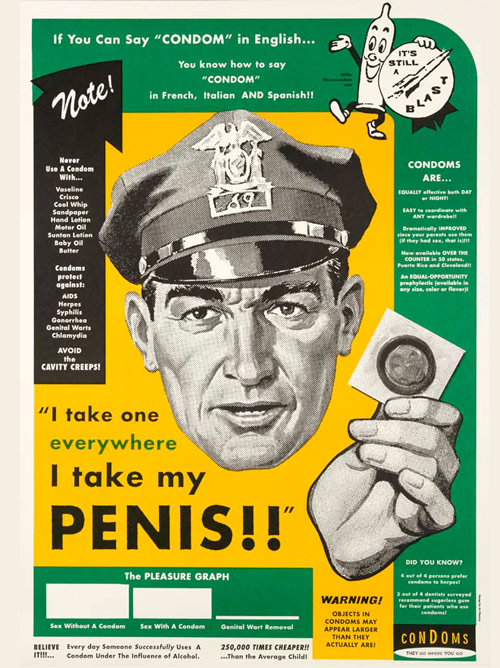 I take my condom