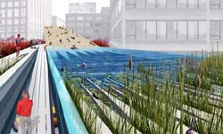 Diller, Scofidio + Renfro Highline Plan