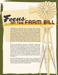 A Fair Farm Bill for Public Health