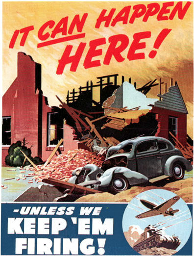 It Can Happen Here, Unless We Keep 'Em Firing