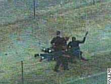 LAPD beating a suspect