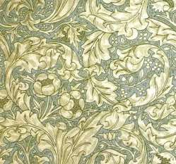 William Morris wallpaper pattern