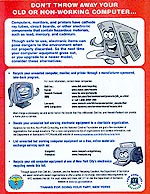 eWaste Recycling Flyer