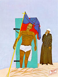 Crucifixion de Charlemagne Péralte pour la Liberté