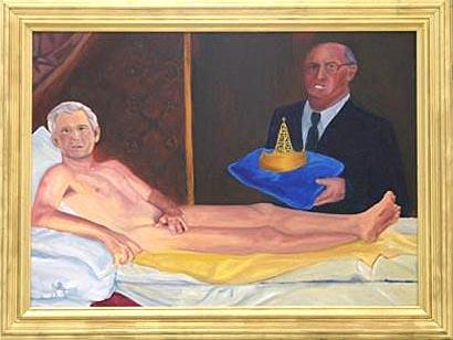 George W. Bush, Olympia