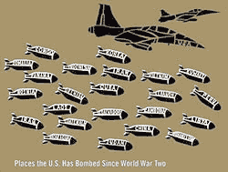 Places the U.S. Has Bombed Since World War Two