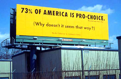 Pro-Choice Billboard
