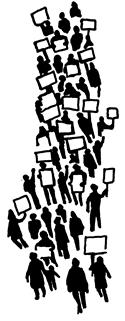 Protest Clip Art