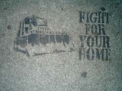 FIGHT FOR YOUR HOME