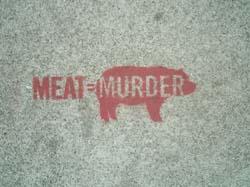 MEAT = MURDER