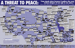 A Threat to Peace: A Map of the Terrorist Infrastructure in the USA