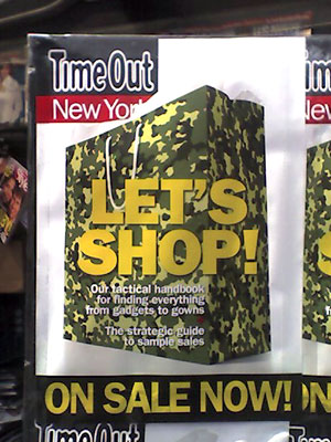 Camouflage Shopping Bag