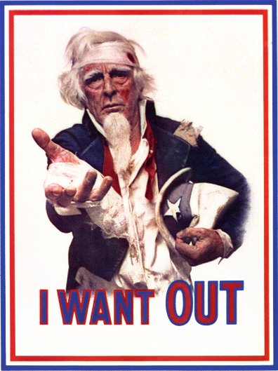 "Uncle Sam: ""I Want Out"""