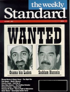 Bush, Saddam Wanted poster