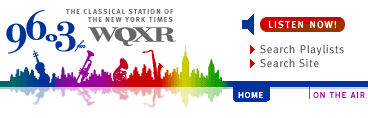 WQXR Web site, after