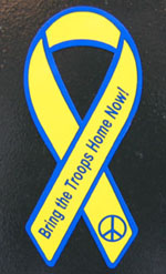 Yellow Ribbon for Peace